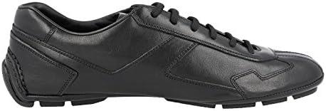 Prada Men's 4E2781 8QW F0002 Leather Trainers/Sneaker