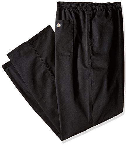 Dickies Chef Classic Trouser, Black, XXX-Large ()