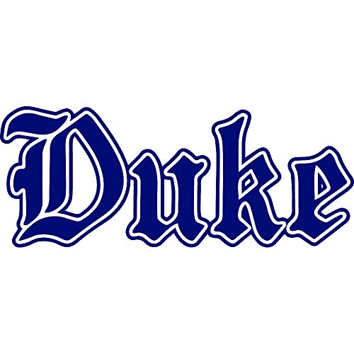South Orange New Jersey Basketball Duke University (Navy Blue) (Set of 2) Premium Waterproof Vinyl Decal Stickers for Laptop Phone Accessory Helmet Car Window Bumper Mug Tuber Cup Door Wall