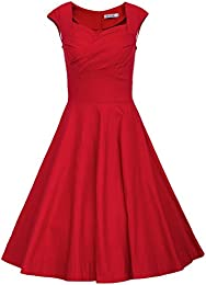 Amazon.com: Red - Dresses / Clothing: Clothing- Shoes & Jewelry