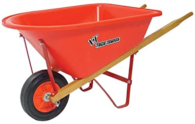 True Temper Kpwb10 Real Tools For Kids Lil Wheelbarrow With Poly Tray by Ames True Temper