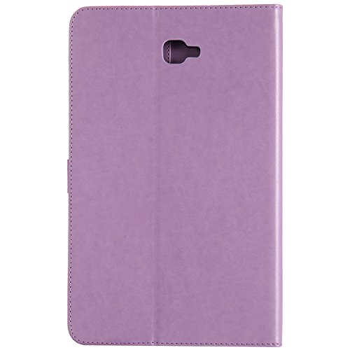 Cat T585N BONROY 1 in Tree series Case Tab Case Ultra Samsung and 10 A Galaxy Stand Built Smart Tab cat 1 Light purple Cover pattern Samsung Girl and Tab 10 A Smart shell Galaxy Samsung T580N Slim Wake Sleep For Auto Galaxy Y6xxRUn