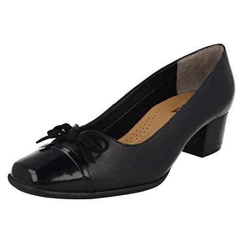 in Van Stevie Womens Dal Courts Patent Shoes Midnight XqtqEr