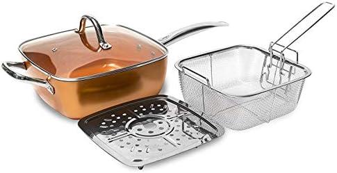Sarten cooper chef, Sarten, Freidora, apta para horno: Amazon.es ...