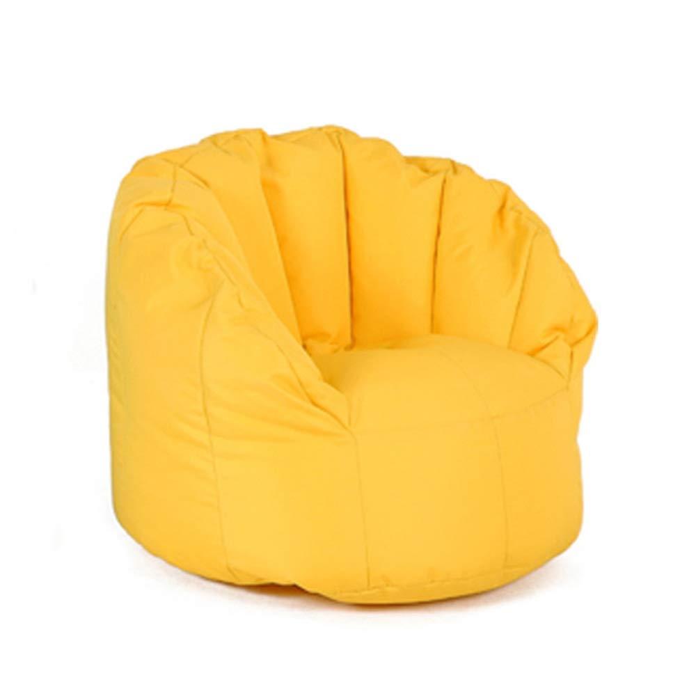 100% autentico Fengbingl Bean Bag Sofa Fagiolo Borsa per per per Bambini Divano Kindergarten Lazy Couch Bean Bag Tatami per Interni ed Esterni (colore   Giallo, Dimensione   55  60cm)  best-seller