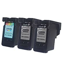 Ouguan Ink Compatible PG 240XL CL 241XL Ink Cartridge for Canon Pixma MG and MX Series Printer