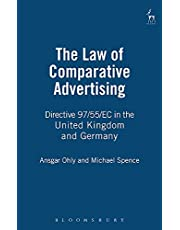 Law of Comparative Advertising: Directive 97/55/EC in the United Kingdom and Germany