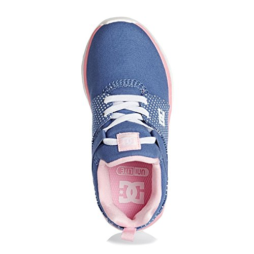 DC Shoes Heathrow - Botas Niñas BLUE/WHITE PRINT