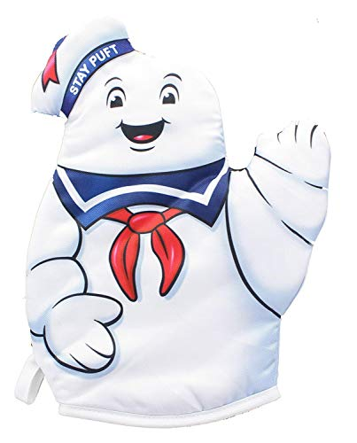 Cryptozoic Ghostbusters: Stay Puft Marshmallow Man Oven Mittens -