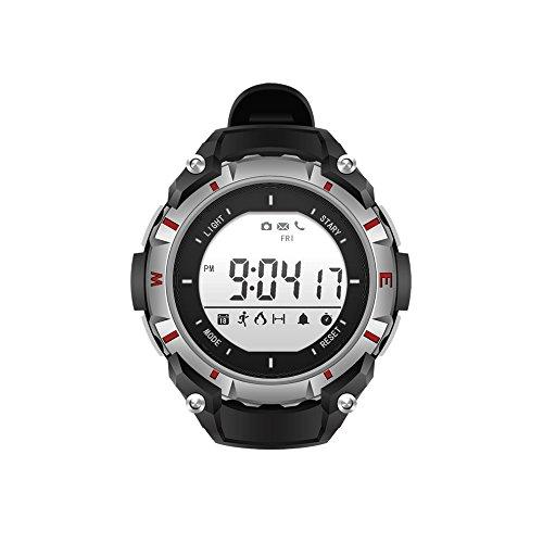 Outdoor Wrist Sports Watches IP65 Waterproof Backlight Compass Power Saving (Climbing/Hiking/ Running/Walking/ Camping) Men's