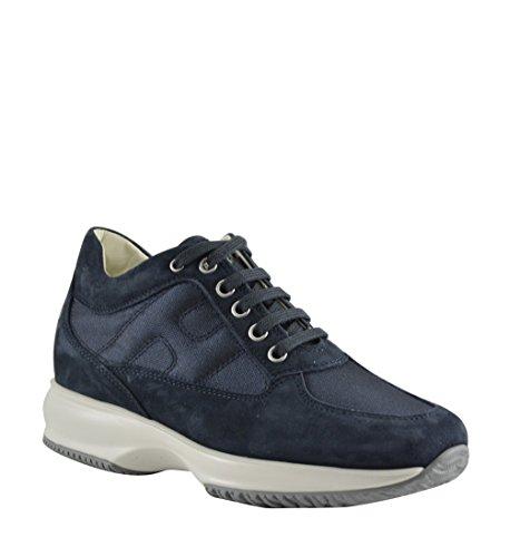 H Hogan Laterale Interactive Blu Imbottita Donna HXW00N0E10FI70071 Sneakers Blu wvRqIv