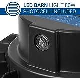 Hyperikon Dusk to Dawn LED Barn Light Outdoor, LED