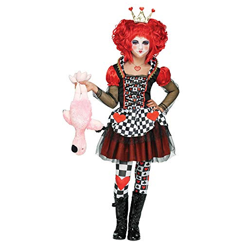 Queen of Hearts Child Costume - Medium ()