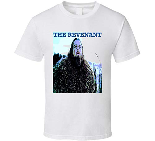 The Revenant Movie t-Shirt Leonardo Dicaprio Western Movie Tom Hardy Film t-Shirts White