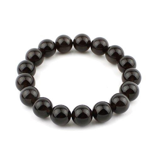 Limited Sales Promotion O-stone Ice Obsidian Bracelet 12mm Meditation Mala Grounding Stone Protection