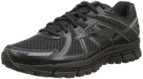 11210f495dccf Galleon - Brooks Adrenaline GTS 17 Black Anthracite Men s Running Shoes