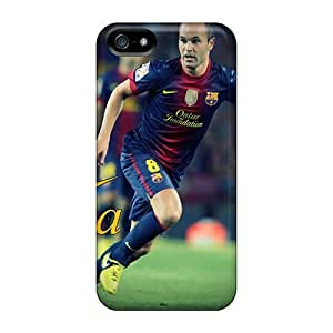diy zhengExcellent Design The Player Of Barcelona Andres Iniesta Phone Case For iphone 5c// Premium Tpu Case