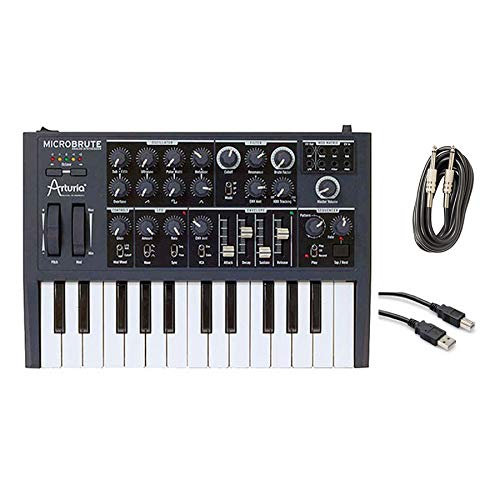 Arturia Microbrute with Instrument Cable and USB Cable ()
