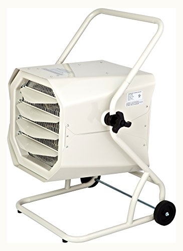 Dr. Heater Dr. Infrared DR-910M 10000-Watt 240-Volt Heavy-Duty Hardwired Shop Garage Heater with Cart and Adjustable…