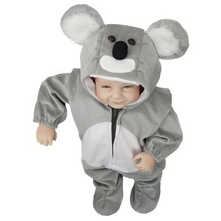 J42 Tamaño 4-5 años traje koala para bebés y niños, cómodo de ...