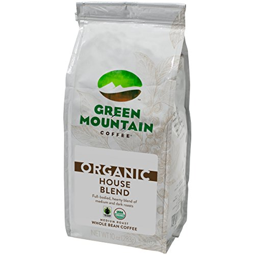 Green Mountain Coffee Straightforward Trade Organic House Blend, Ground, 10 Ounce Bag