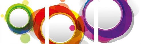 Цвет: цветные круги