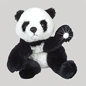 "Purr-Fection Baby Gansu Beamerzzz Panda Bear 12"" Plush with Flashlight"
