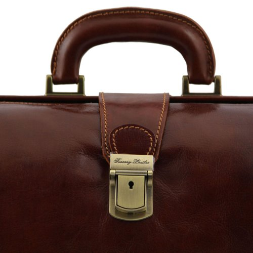 Tuscany Leather , Herren Henkeltasche Braun braun