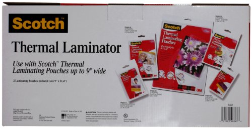 Large Product Image of Scotch Thermal Laminator 2 Roller System (TL901C)