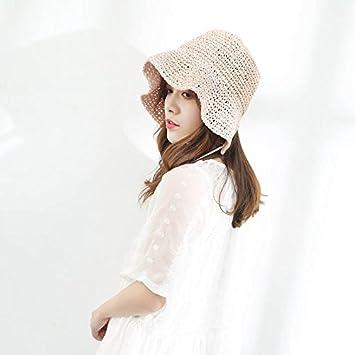 Xing Han Sombrero De Sol Para Mujer Sombrero De Paja Sombrilla Sundish Playa Verano Femenino Japonés
