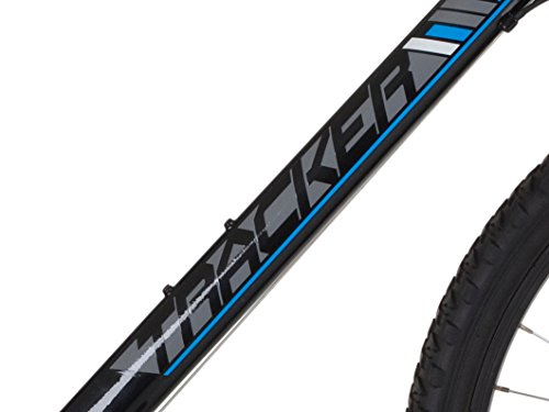 Freespirit Mens 2015 Tracker Mountain Bike in Black/Grey/Cyan 22