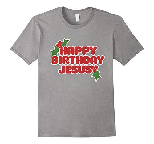 Men's Happy birthday Jesus t-shirt funny Christmas party ...