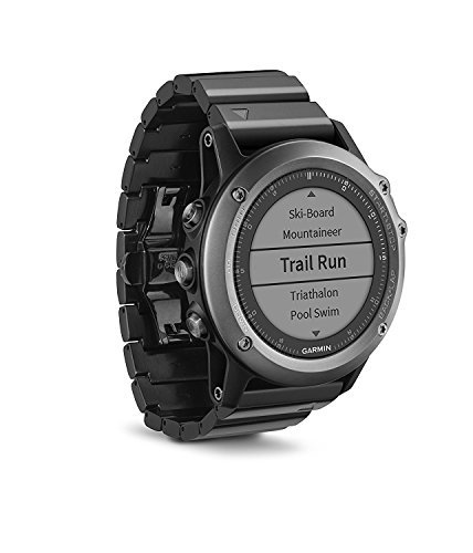 Garmin Fenix 3 GPS Watch Sapphire (Certified Refurbished) by Garmin