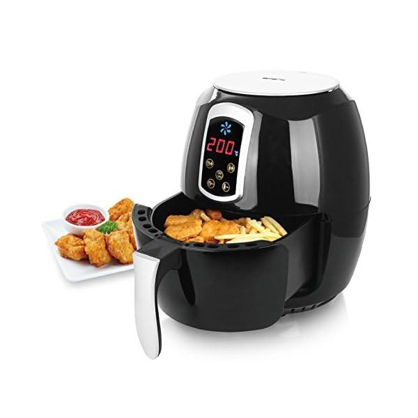 """Emerio AF-115668 - Friggitrice ad aria calda, Smart Fryer Test """"GUT"""", Friggitrice senza olio, 3,6 litri, 1400 Watt 3"""