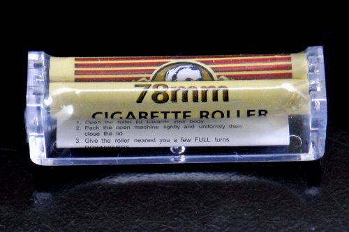 Zig Zag Roller 78mm. Rolls Great, Perfect Cigarettes. Fast and Easy to Use!!! ()
