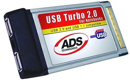 ADS USBX 2001 USB TURBO 2.0 CARDBUS DRIVER FOR WINDOWS MAC