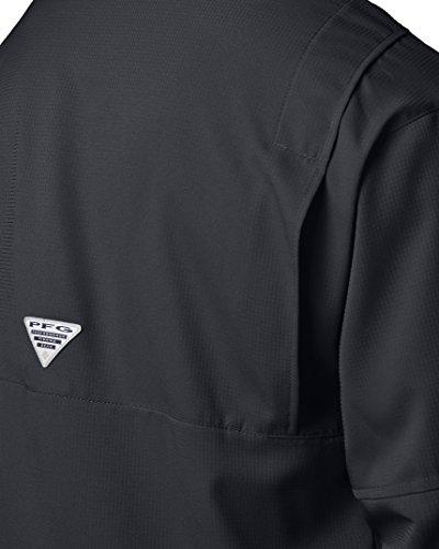 Columbia Men's Plus Tamiami II Long Sleeve Shirt, Black - 2X Big by Columbia (Image #6)