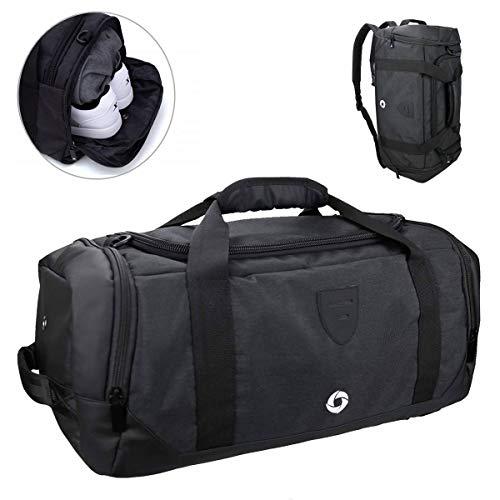 Waterproof Duffle Bags >> Cico Rider Gym Duffle Bag Sports Duffel Bag Waterproof Backpack