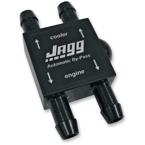 Jagg Oil Cooler Bypass Valve Automatic for Harley - Oil Jagg
