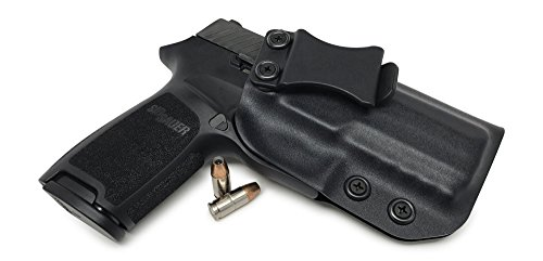 Concealment Express IWB KYDEX Holster: fits Sig Sauer P320 Compact - Custom Fit - US Made - Inside Waistband Concealed Carry - Adj. Cant/Retention (BLK, Right)