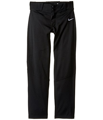 Nike Boys' Pro Vapor Baseball Pants Youth(Black/Small)