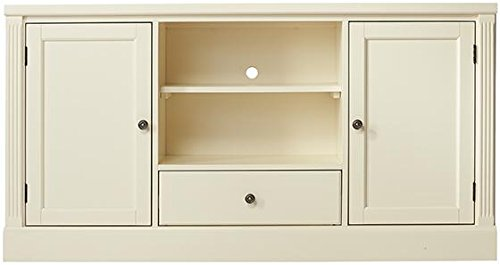 "Edinburgh Tv Stand, 30""Hx57""Wx113.75""D, IVORY"