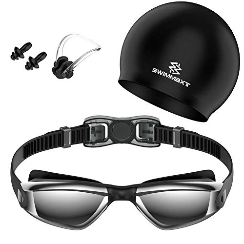 Swimmaxt Swimming Goggles Protection Pro Black product image