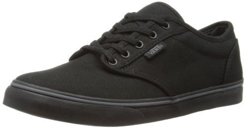 Sneaker Atwood Black Lace Low Vans' Women's Up 1fWnOnqTcw
