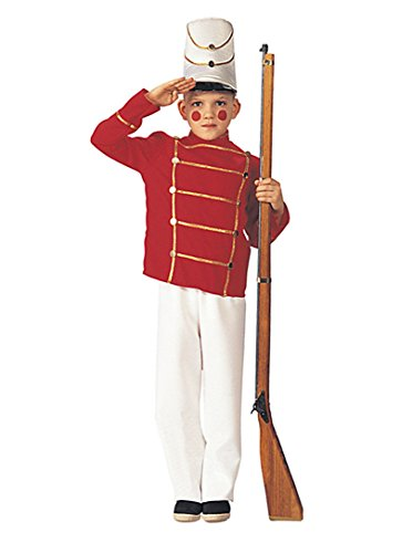 Child's Wooden Soldier Costume, Large (Kids Soldier Costumes)