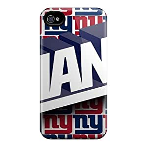 High Grade PamarelaObwerker Flexible Tpu Cases For Iphone 4/4s - New York Giants