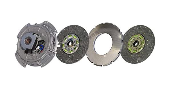 IATCO 108035-82-IAT 14 x 1-3//4 Easy Pedal Clutch Two-Plate, Organic // 8-Spring, 3600 Plate Load // 1100 Torque