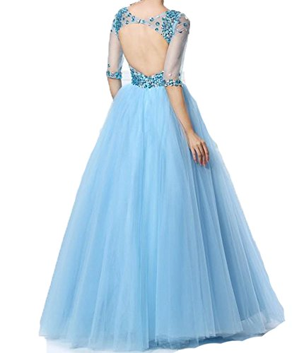 Half Quinceanera Party Sleeves Pageant Gown Neck BessDress Ball V Dresses Lilac BD278 Sequins TAdxw