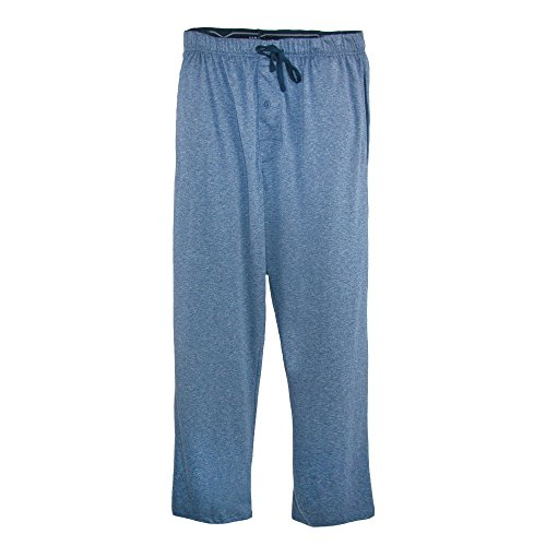Hanes Men's X Temp Knit Lounge Pajama Pants, Medium, Classic Blue