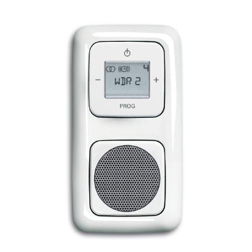 Komplett-Set BUSCH-JAEGER, Digitalradio, Lautsprecher -weiß- -Reflex SI-